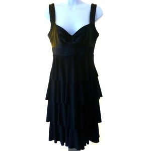 LAUNDRY SHELLI SEGAL Little Black Cocktail Dress